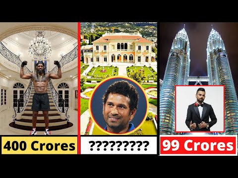 New List Of 9 Most Expensive House Of Cricketers - Virat Kohli, Chris Gayle, Ms Dhoni, Sachin