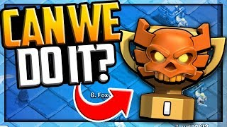 Can We Get to The TOP?! Clash of Clans Clan War Leagues Season 4, Day 1!
