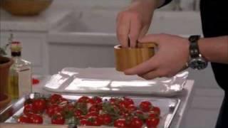 Arugula, Roasted Cherry Tomatoes & Bocconcini Salad