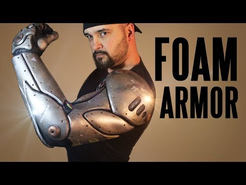 Bionic Arm Tutorial ...in EVA FOAM!