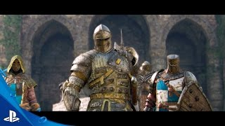 For Honor - Gamescom 2016 Viking, Samurai, and Knight Factions Trailer | PS4