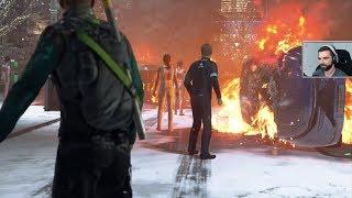 Detroit: Become Human #9 - W stronę Kanady, BUNT MASZYN