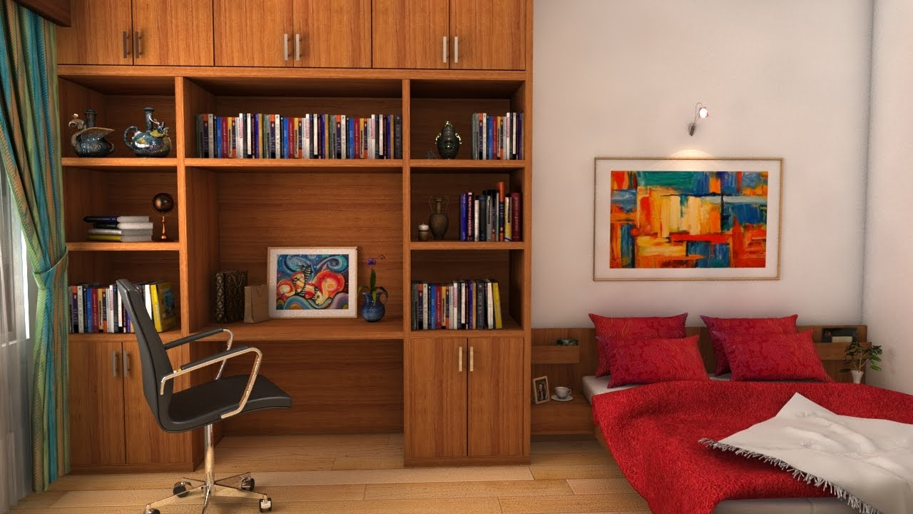 Single room decoration design 2017 youtube for Organize living room ideas