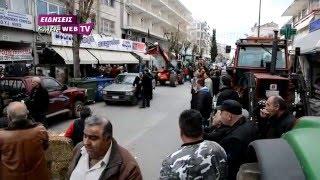 Μπλόκο αγροτών στη ΔΟΥ Κιλκίς-Eidisis.gr webTV