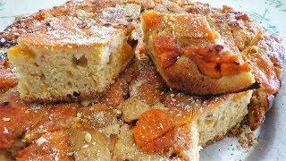 Быстрый АБРИКОСОВЫЙ ПИРОГ. Очень вкусный и простой рецепт пирога из свежих абрикосов