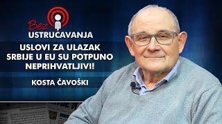 Kosta Čavoški - Uslovi za ulazak Srbije u EU su potpuno neprihvatljivi!