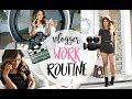 WORK/MORNING ROUTINE AS A YOUTUBER | BELINDA SELENE