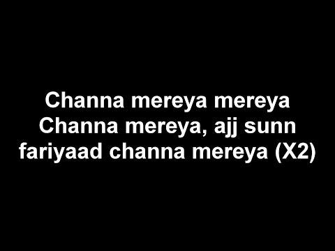 Mickey Singh - Channa Mereya Lyrics