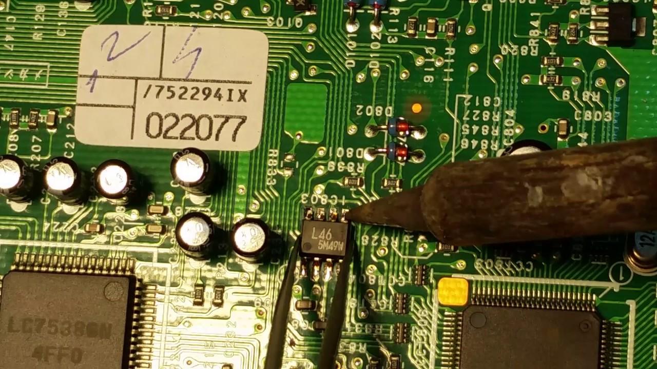 PU-2294A (C) radio cd code unlock eeprom 93L46 \