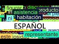 3000 Common Spanish Words with Pronunciation