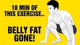 The Best One Exercise Fat Burning Workout of All Time - Get Ripped Fast!