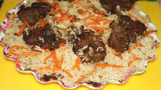 "Afghani dish ""kabuli pulao"" {full recipe}"