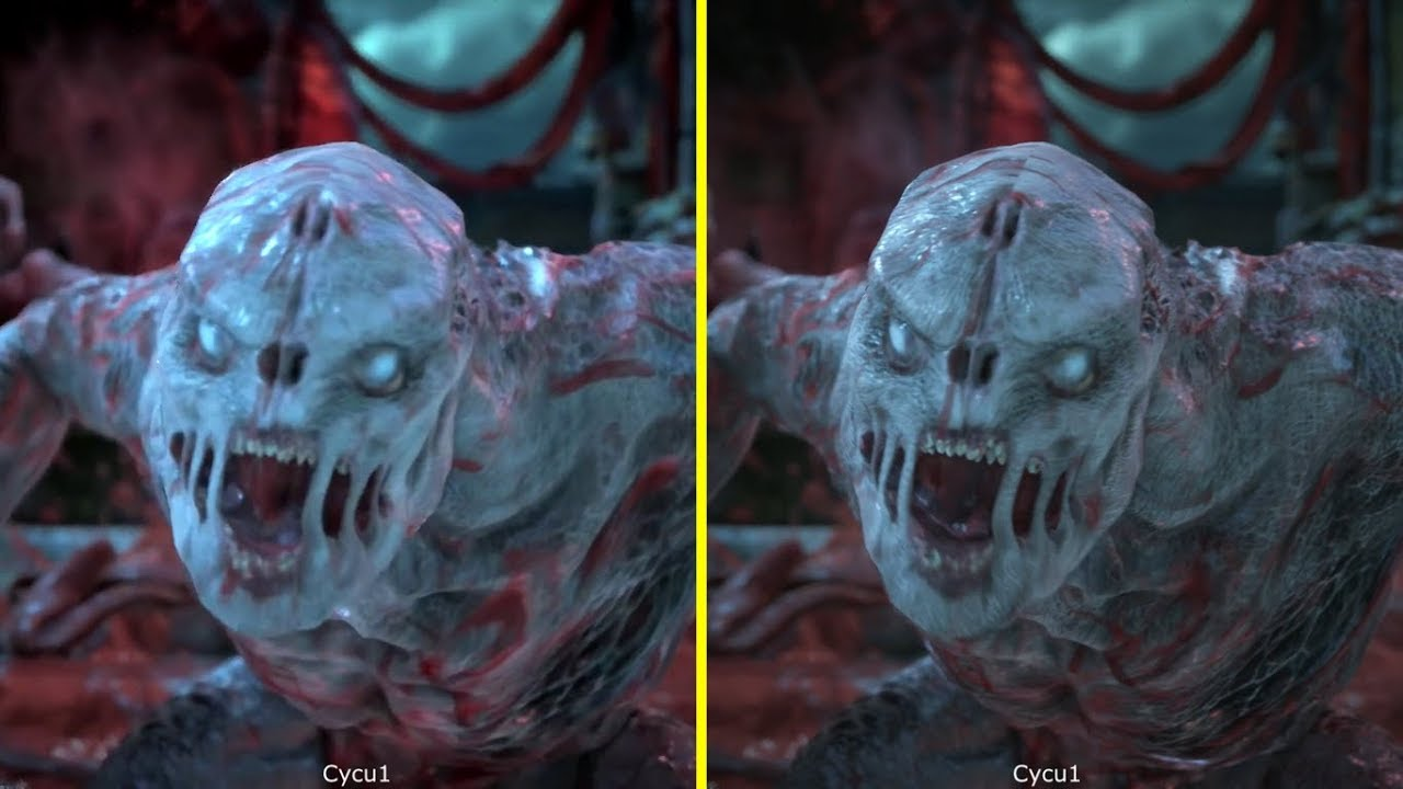 Gears Of War 4 Xbox One S Vs Xbox One X 4K Graphics Comparison YouTube