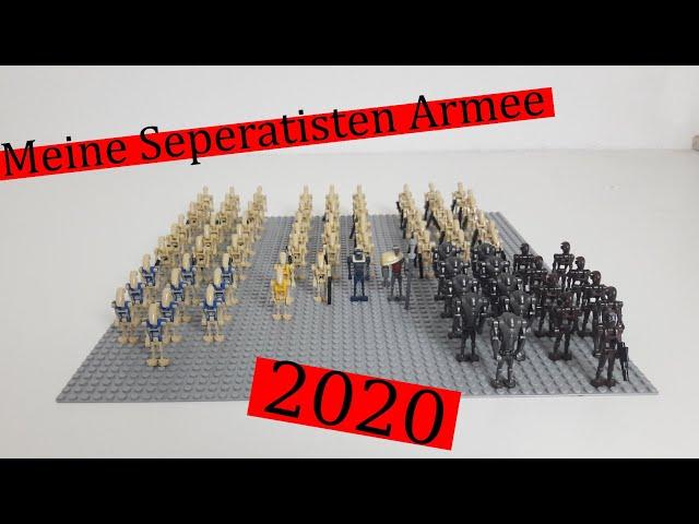 Meine Lego Star Wars Seperatisten Droiden Armee