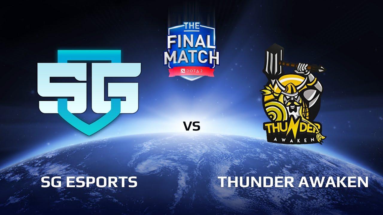 SG eSports vs Thunder Awaken, The Final Match LAN-Final, Group A