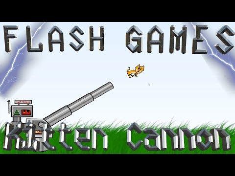 Flash Games Friday: Kitten Cannon