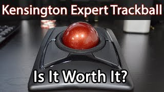 Kensington Expert Mouse Wireless Trackball UnBoxing & Review