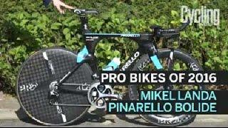 Pro Bikes of 2016: Mikel Landa Pinarello Bolide TT Bike