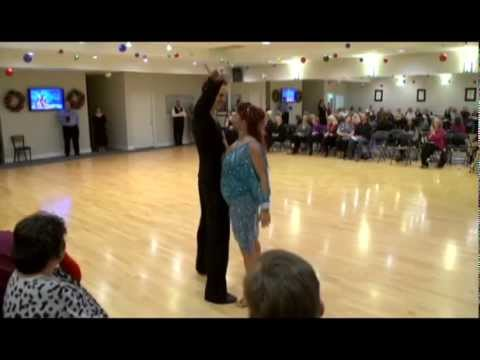 Cha Cha Show Dance At Ultimate Ballroom (Holiday Showcase 2014)