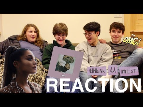 "Ariana Grande - ""THANK U, NEXT"" Full Album REACTION"