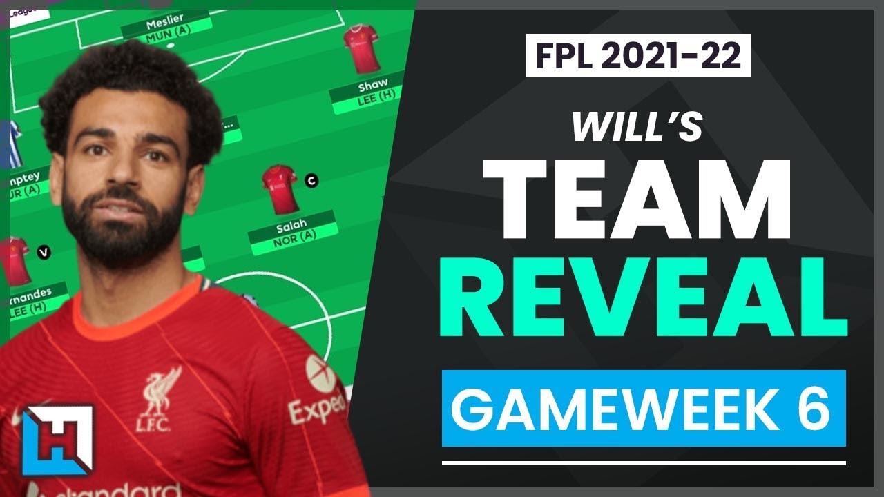 TEAM REVEAL Gameweek 6   When to Wildcard?   Fantasy Premier League Tips