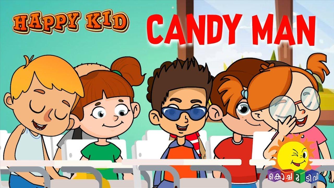 Happy Kid   Candy man   Episode 35   Kochu TV   Malayalam ...