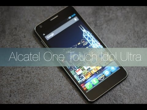 Alcatel Idol Ultra: Videoreview