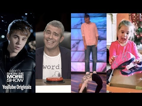 Ellen and Justin Bieber, Andy Cohen, Gift Reactions, and Hidden Talents