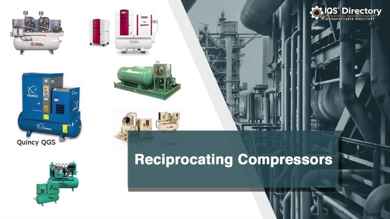 Reciprocating Compressor Manufacturers Suppliers