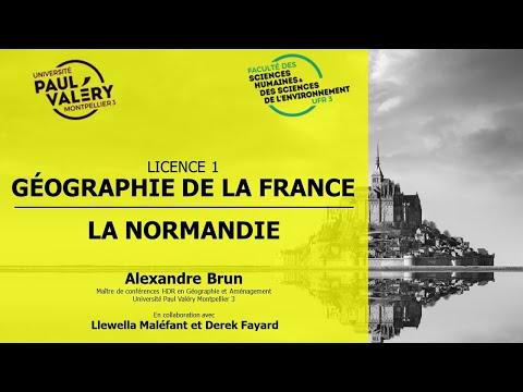 CM L1 GEO DE LA FRANCE NORMANDIE