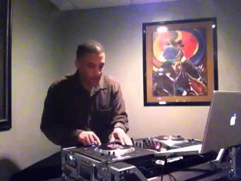 "DJ Tone Arm Scratching ""Chief Rocka On The Numark NS7."