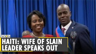 Haiti Assassination aftermath: Haitian first lady Martine Moise recounts the attack