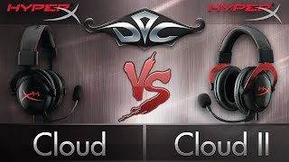[4K]  Kingston HyperX Cloud II vs. HyperX Cloud