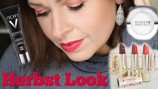 First Impression Vichy Clarins Wonder2 I Herbst Look 2018 Makeup I Mamacobeauty