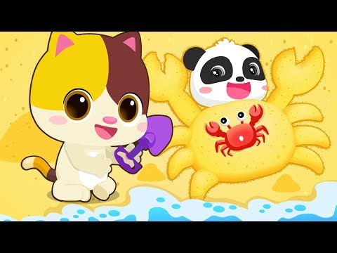 Kids Playing with Sands | Play Safe Song | Kids Playing | Nursery Rhymes | Baby Songs | BabyBus