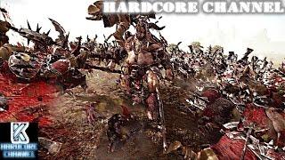 Фото Total War Warhammer   прохождение Hardcore Зверолюди 6 Бой с вылетами