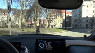 Tour Of Stockholm In A BMW I3, The Perfect Citycar (short)