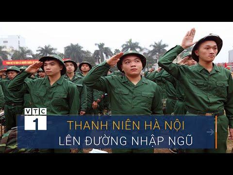 Hơn 3.500 Thanh Niên Hà Nội Lên đường Nhập Ngũ   VTC1