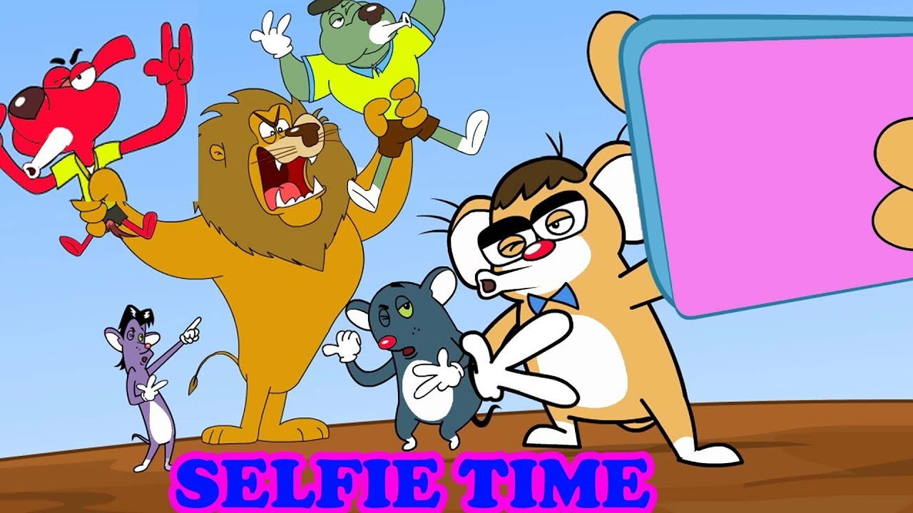Rat-A-Tat |'Mice Brothers Selfie Time NEW Episode + Video Game'| Chotoonz Kids Funny Cartoon Videos