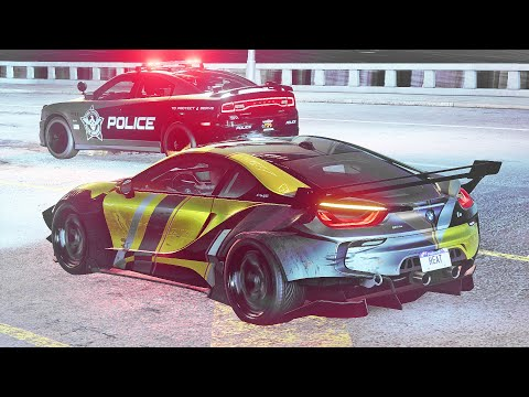 I'm a COP MAGNET in this street racing game!! (NFS: Heat) |
