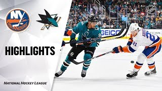 Сан-Хосе - Айлендерс / NHL Highlights | Islanders @ Sharks 11/23/19