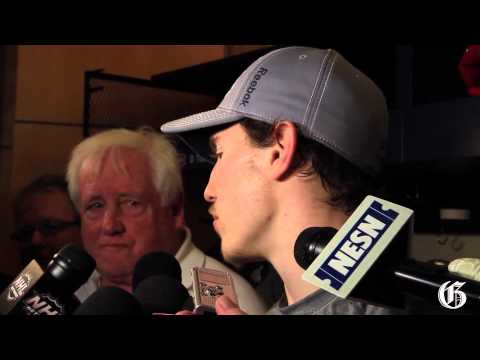 Brendan Gallagher answers questions May 7, 2014.