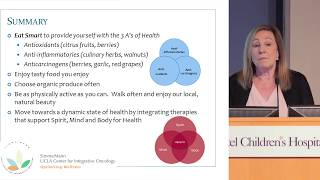 Nutrition & Intergrative Oncology for Leiomyosarcoma Patients - Carolyn Katzin, MS, CNS