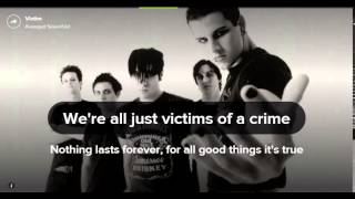 victim avenged sevenfold karaoke lyrics