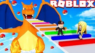 ROBLOX - POKEMON OBBY!! | Vito vs Bella