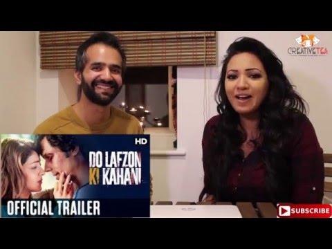 Do Lafzon Ki Kahani Trailer Reaction-Review