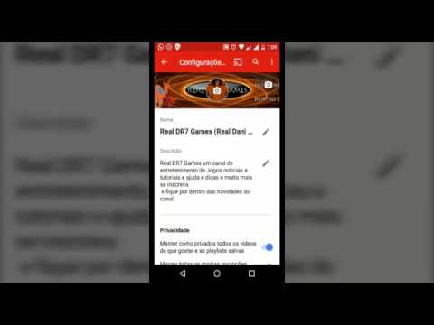 how to create a youtube channel on mobile