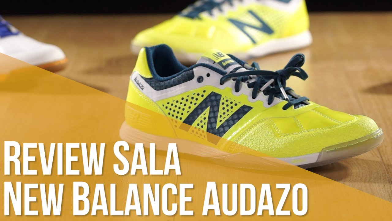 7787afe04 Review Fútbol Sala New Balance Audazo - YouTube