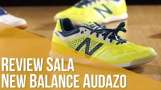Review Fútbol Sala New Balance Audazo