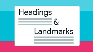 Why headings and landmarks are so important -- A11ycasts #18